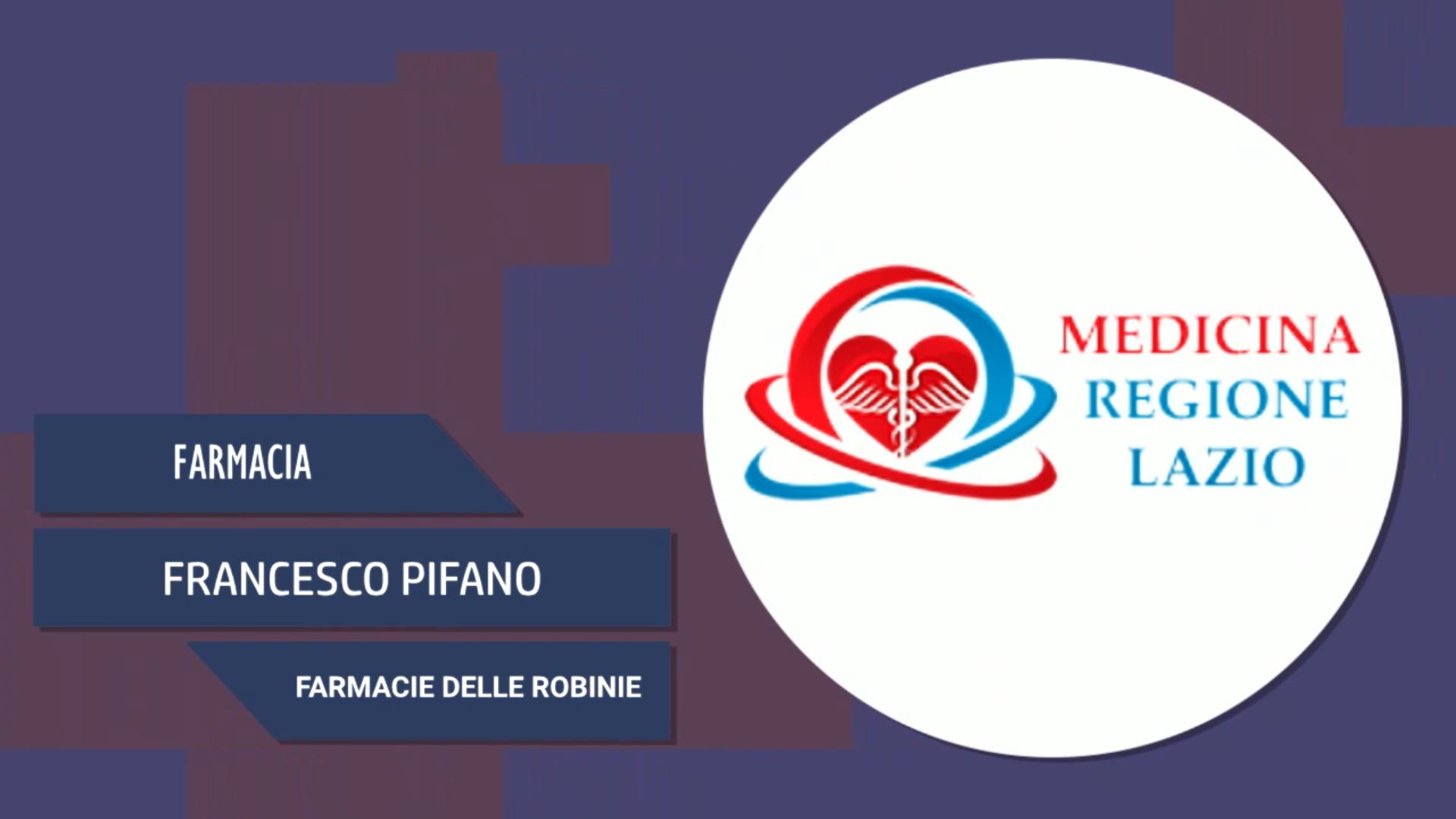 Intervista a Francesco Pifano – Farmacie delle Robinie