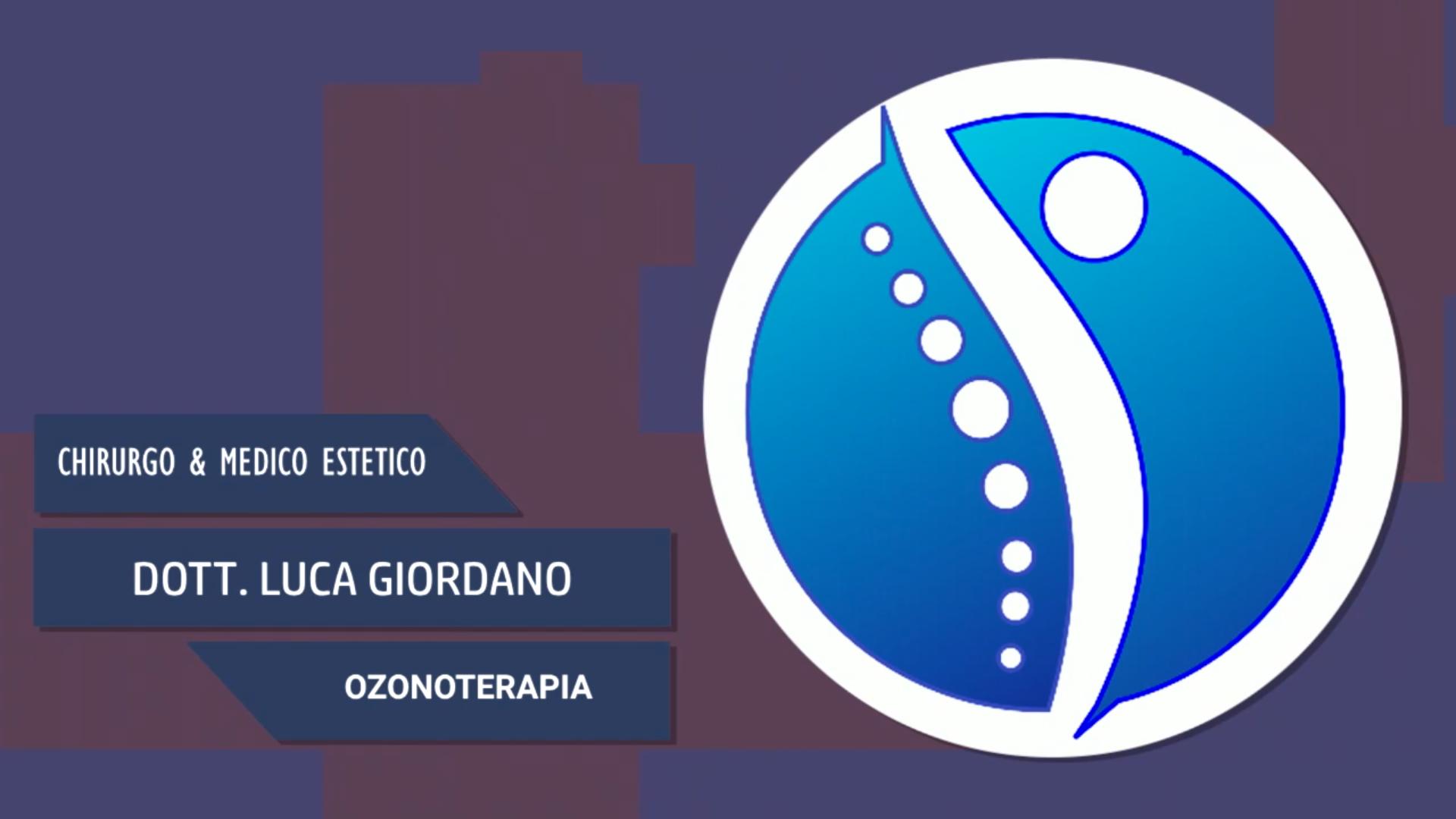 Intervista al Dott. Luca Giordano – Ozonoterapia