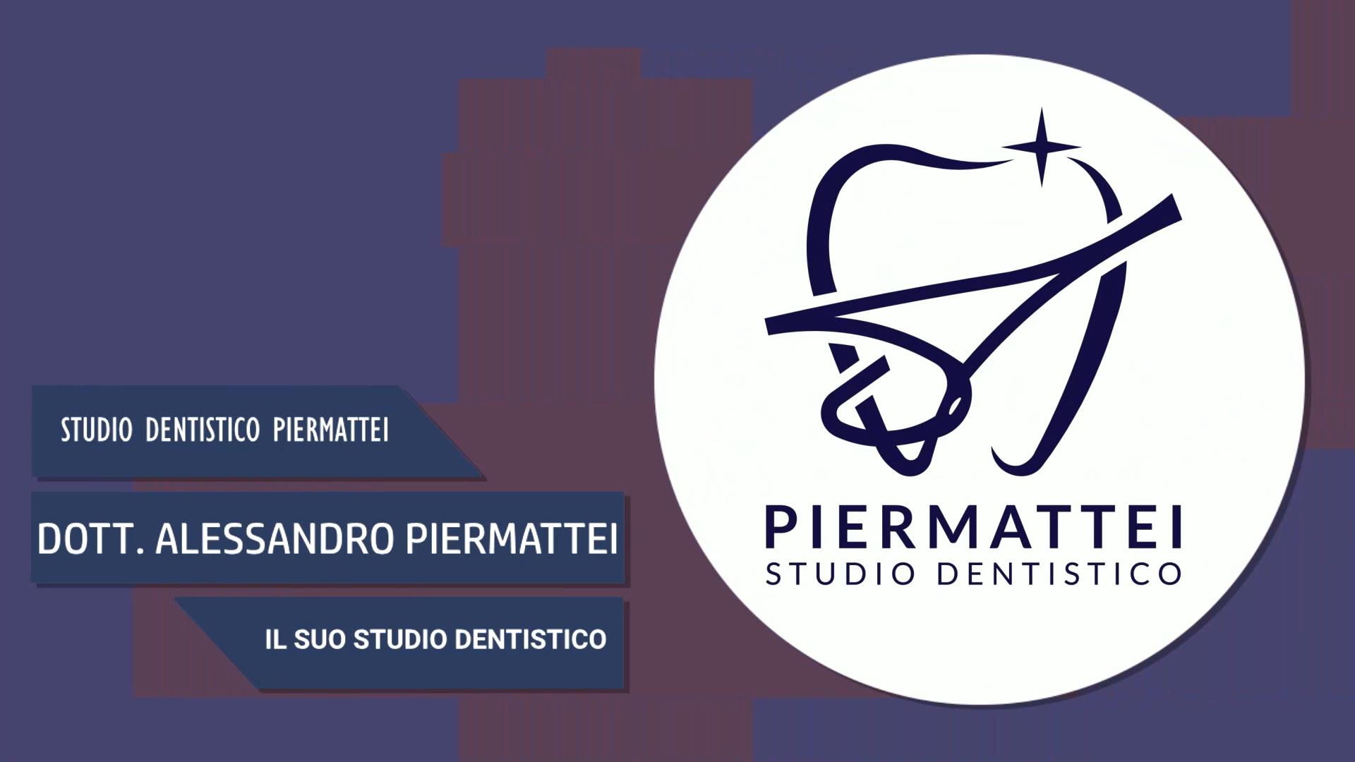 Intervista al Dott. Alessandro Piermattei – Il suo studio dentistico