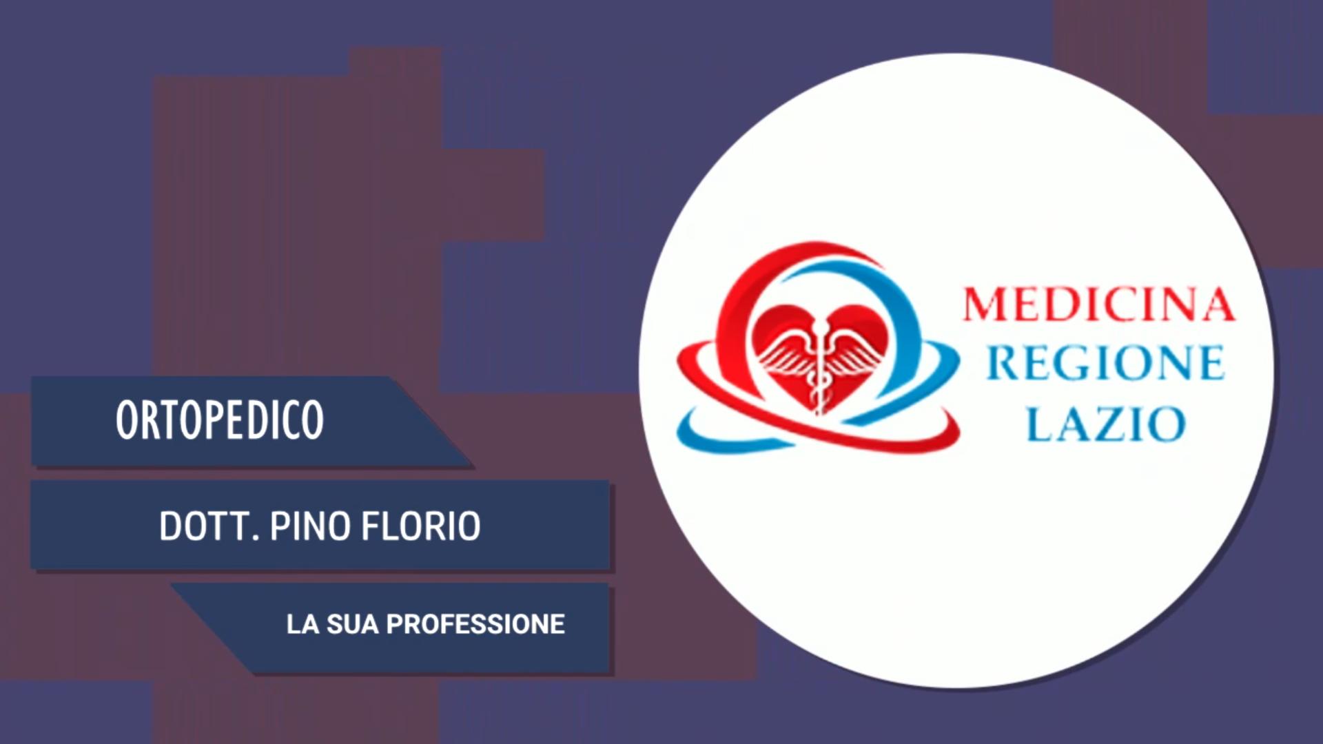 Intervista al Dott. Pino Florio – La sua professione