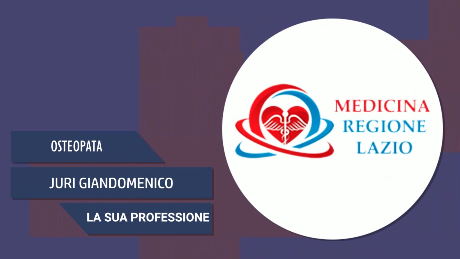 Intervista a Juri Giandomenico – La sua professione