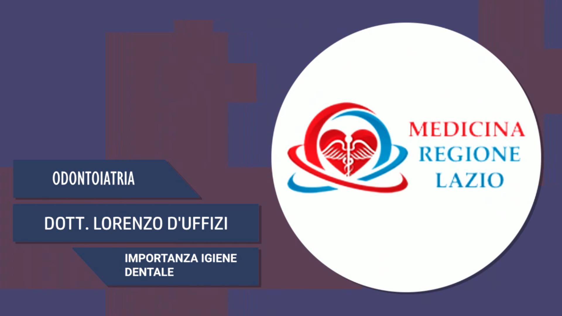 Intervista al Dott. Lorenzo D'Uffizi – Importanza igiene dentale
