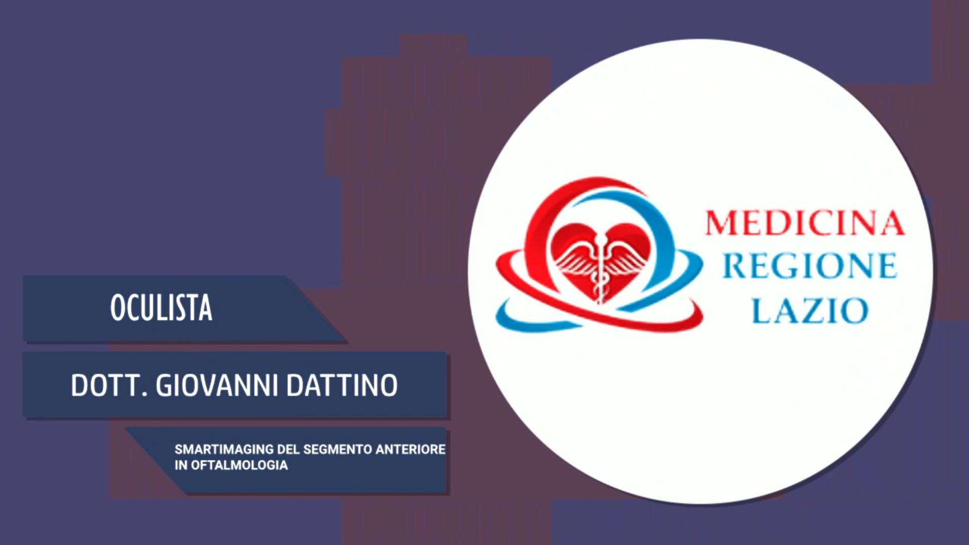 Intervista al Dott. Giovanni Dattino – Smartimaging del segmento anteriore