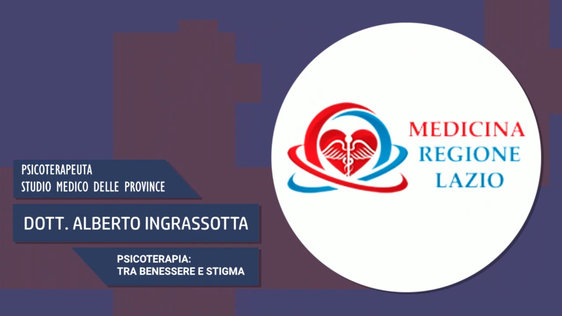 Intervista al Dott. Alberto Ingrassotta – Psicoterapia: tra benessere e stigma