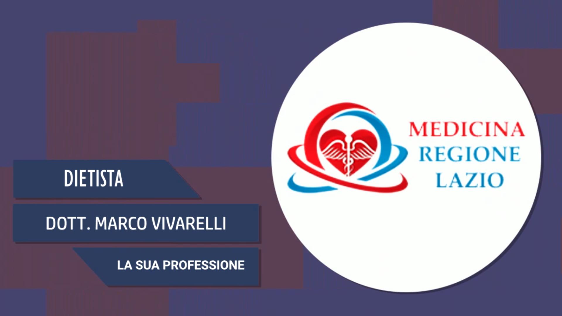 Intervista al Dott. Marco Vivarelli – La sua professione