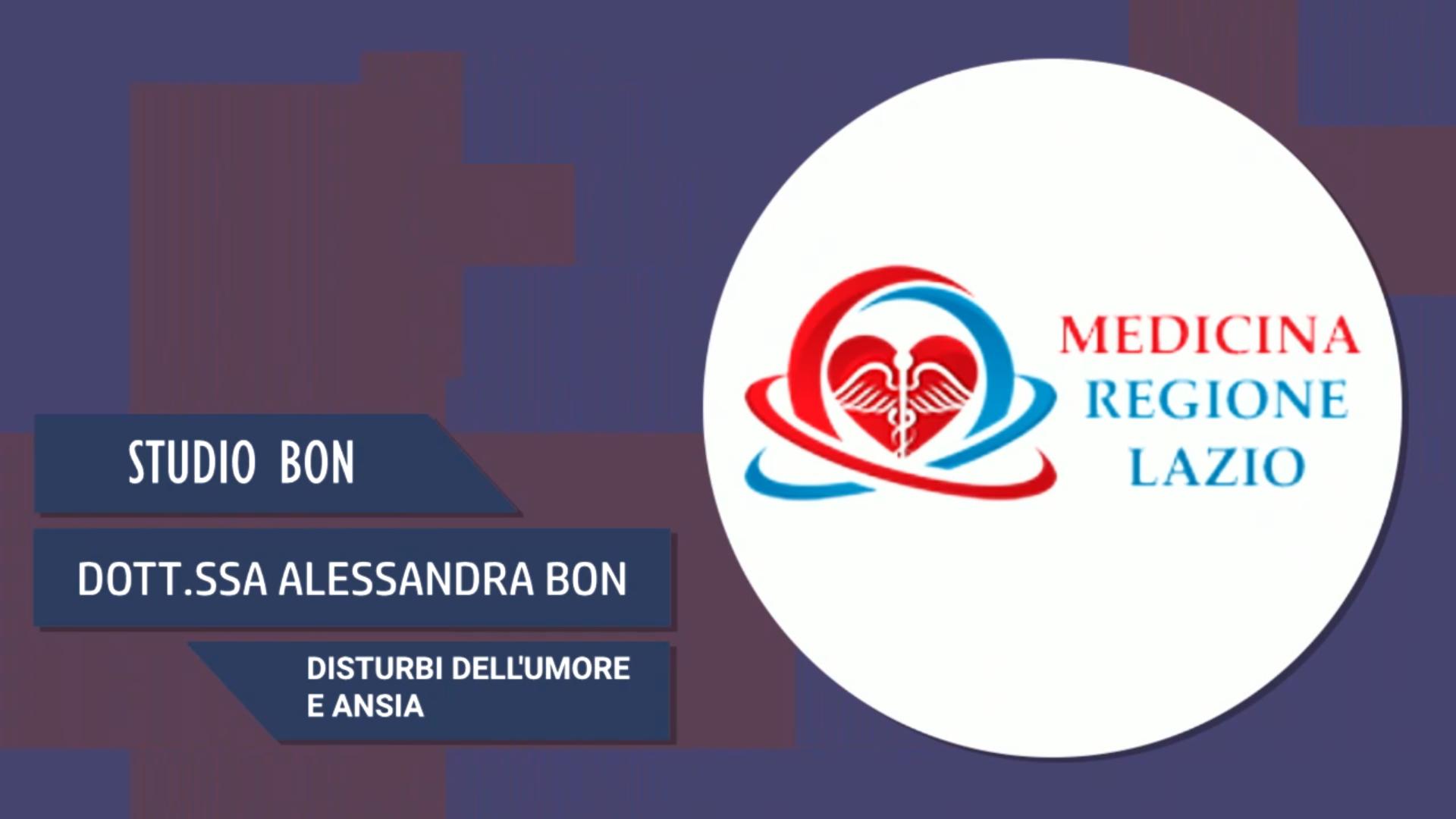 Intervista alla Dott.ssa Alessandra Bon – Disturbi dell'umore e ansia