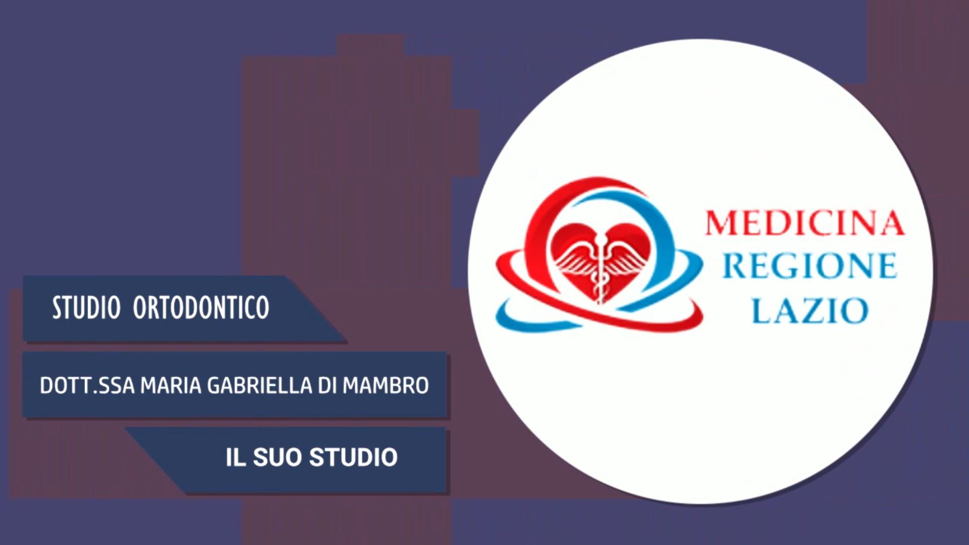 Intervista alla Dott.ssa Maria Gabriella Di Mambro – Il suo studio