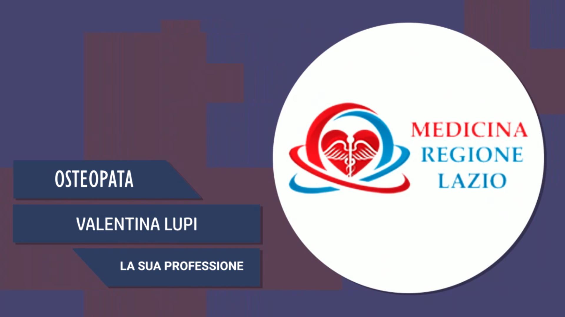 Intervista a Valentina Lupi – La sua professione