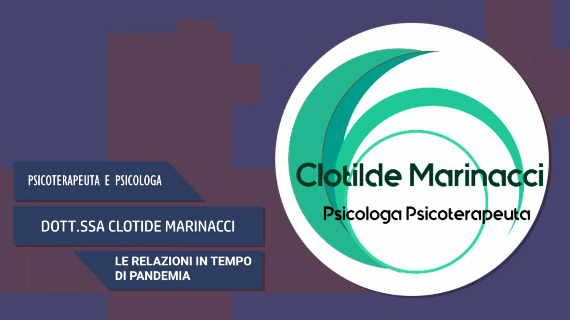 Intervista alla Dott.ssa Clotilde Marinacci – Le relazioni in tempo di pandemia