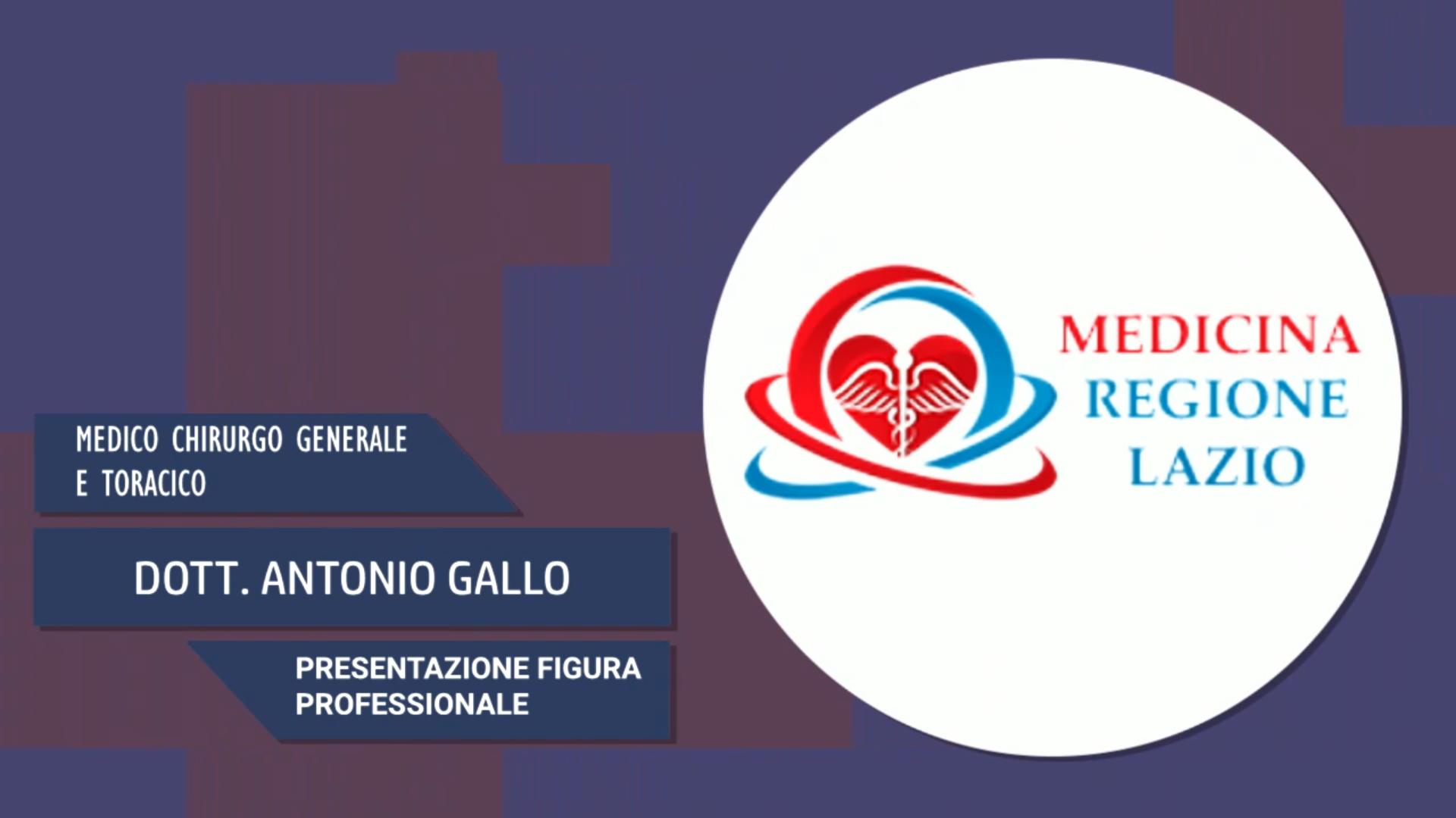 Intervista al Dott. Antonio Gallo – Presentazione figura professionale