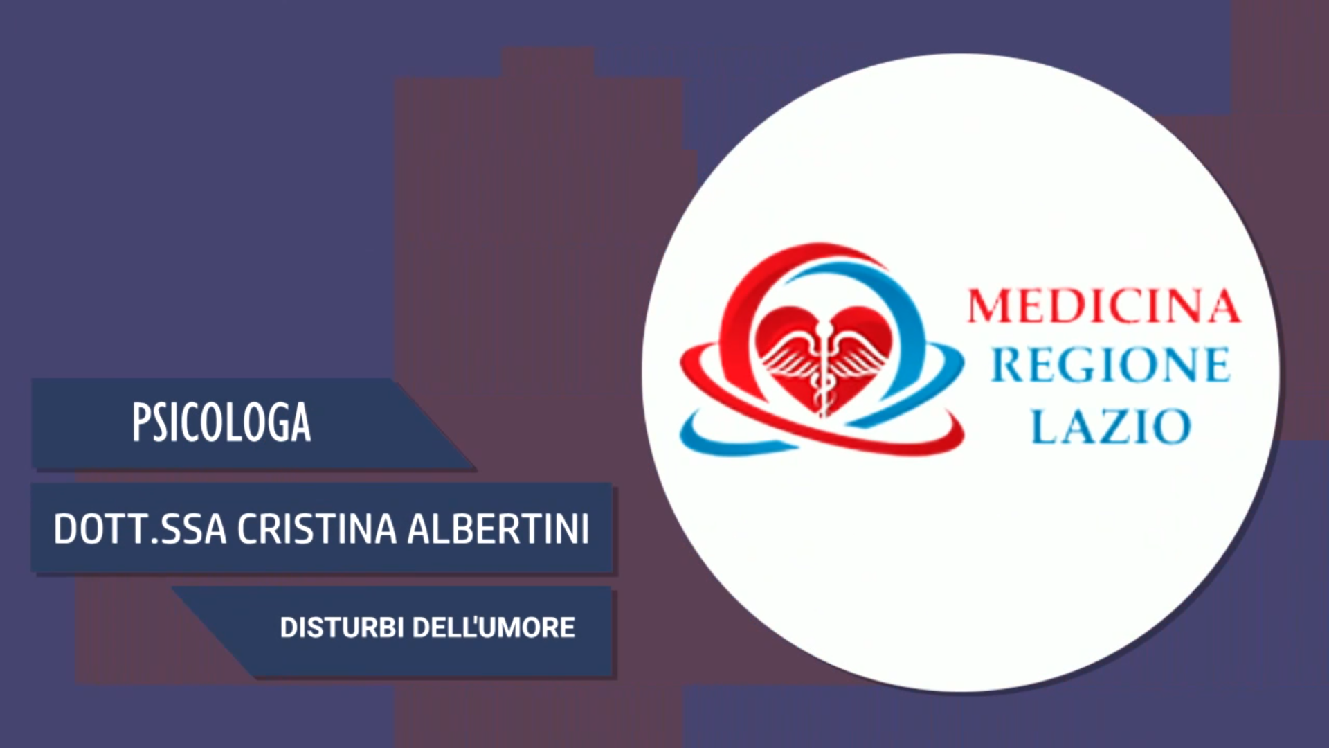 Intervista alla Dott.ssa Cristina Albertini – Disturbi dell'umore
