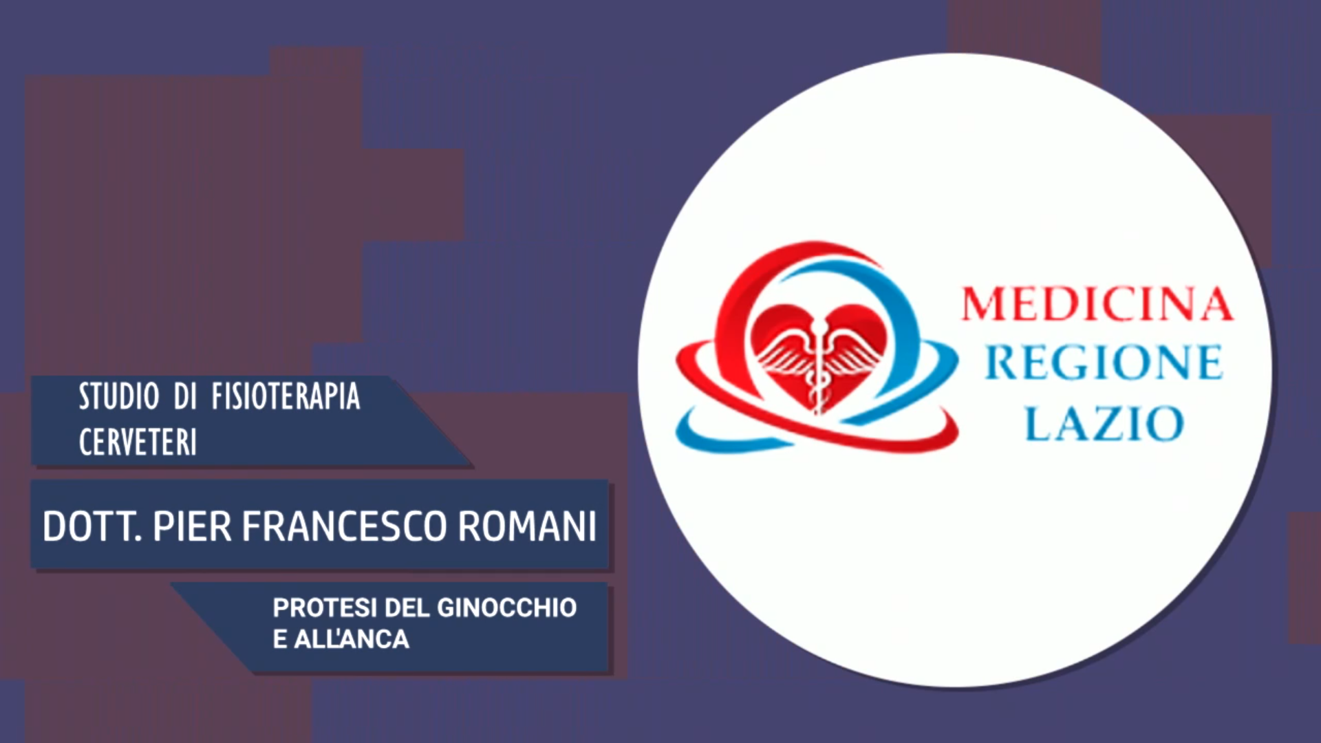 Intervista al Dott. Pier Francesco Romani – Protesi del ginocchio e dell'anca