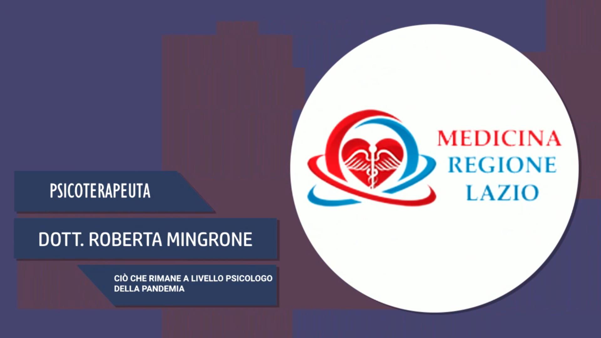 Intervista alla Dott.ssa Roberta Mingrone – Ciò che rimane a livello psicologico della pandemia